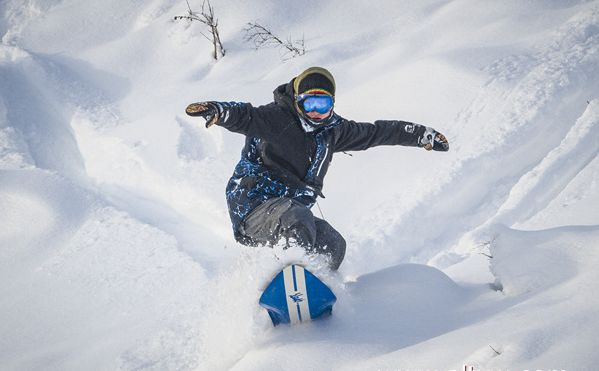 《牛人》王磊:中国单板滑雪第一人的涅槃重生!