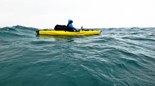 《牛人》闪米特:一桨一舟,这就是我要的探险生活!