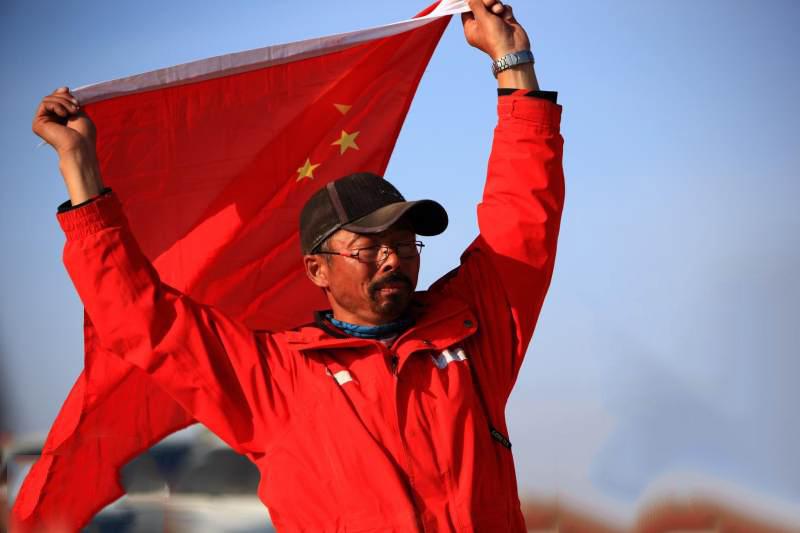 雷殿生-中国徒步第一人