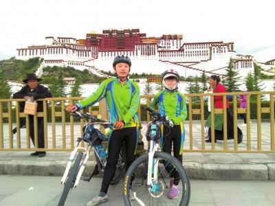 25天骑行2250公里 四川10岁女孩再战川藏线成功