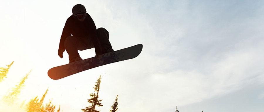 """野外探险小百科:""""数九寒天""""正式开启,你的雪地滑板上场了吗?"""