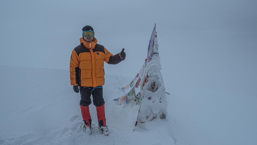 中国探险协会牛人节目:刘明星 团队精神比登顶更重要,生命不息攀登不止