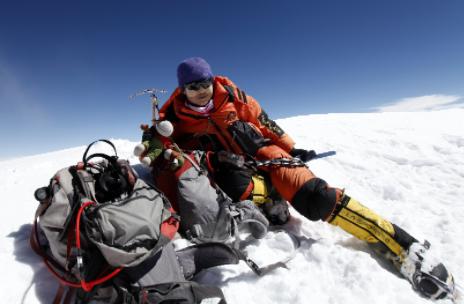 """中国探险协会牛人节目:罗静 站在世界之巅的真""""顶流"""""""